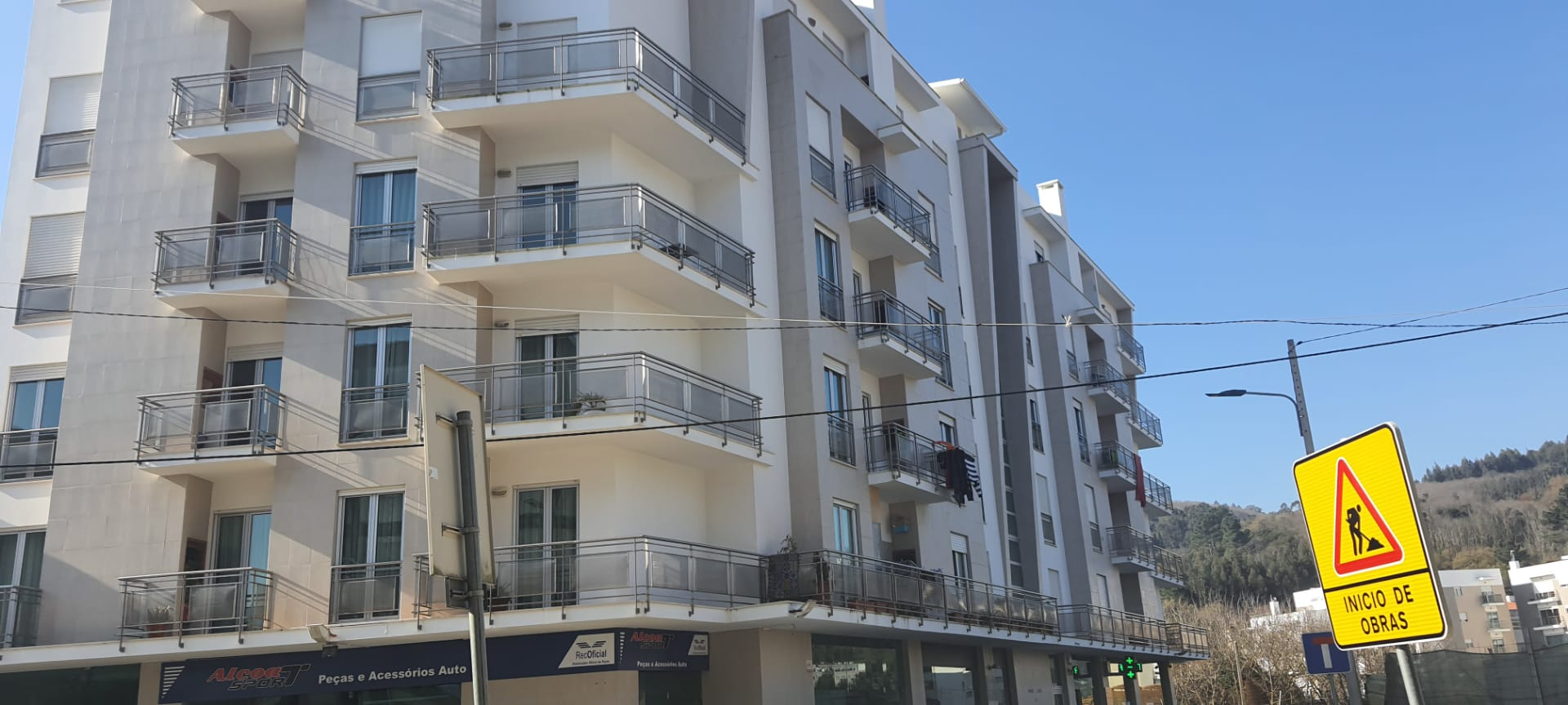Apartamento T1 em Alcobaça